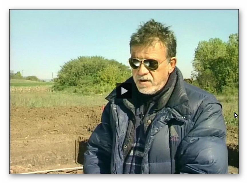 Archaeologist Dusan Slivar