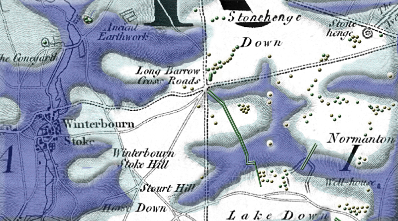 The Dykes of Winterbourne Stoke Crossroads