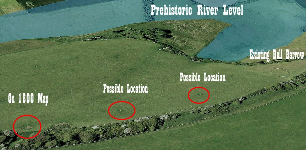 GE Section 3 Round Barrows - Prehistoric canals (dykes)