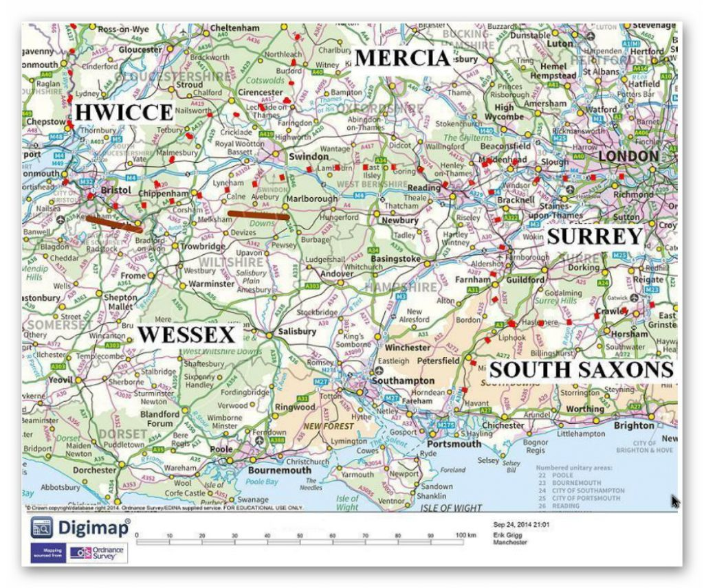The 'so called' warring tribes of the Medieval period - Prehistoric canals (dykes)