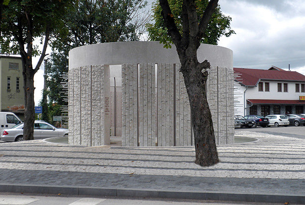The monument to Bosniak civilians killed in the northern Bosnian town of Kozarac. Names of the 1,226 victims are inscribed inside the dome - looks familiar?  - Sunken lands of the North Sea