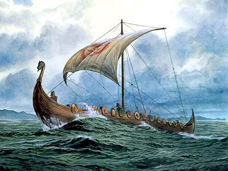 The Vikings (Cro-Magnon descendents) continued to visit America - First European to reach America